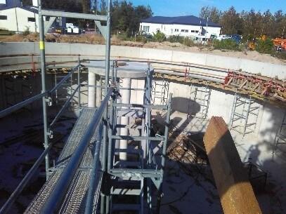 Sequential batch reactors in Melno