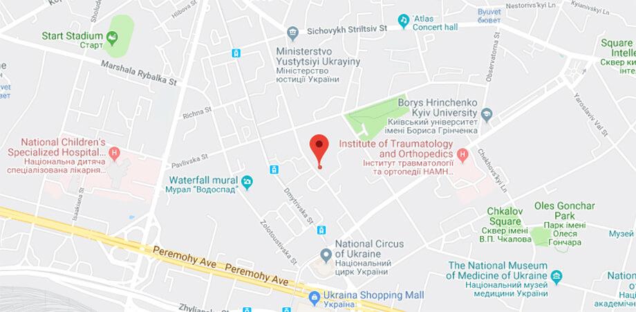 Change of Office location in Ukraine